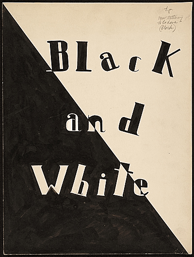 Illustrations for Black and white