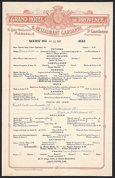 Hotel černigov menu