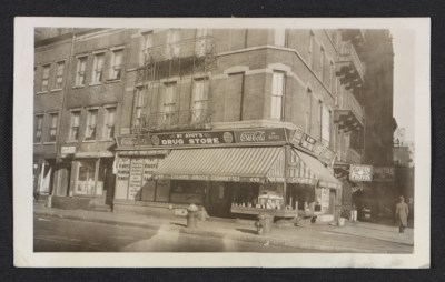 [McAvoy's drug store in New York City]
