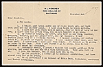 H. L. Mencken letter to Charles Green Shaw