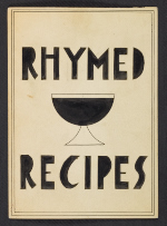 Charles Green Shaws Rhymed recipes