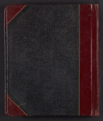 [Charles Green Shaw diary cover back 1]