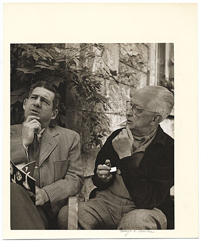 [Charles Sheeler and Bill Lane]