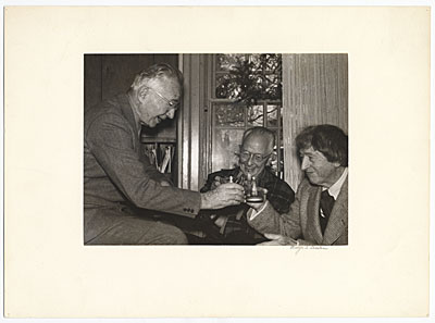 [Charles Sheeler, Edward Steichen and John Marin]
