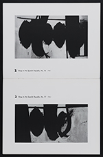 [Sidney Janis Gallery exhibition catalog for New Paintings and Collages by Robert Motherwell pages 4]