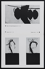 [Sidney Janis Gallery exhibition catalog for New Paintings and Collages by Robert Motherwell pages 6]