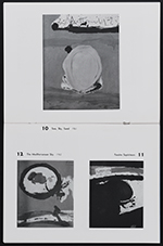 [Sidney Janis Gallery exhibition catalog for New Paintings and Collages by Robert Motherwell pages 8]