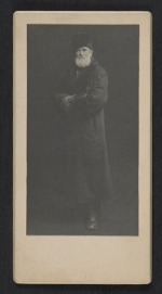 [Louis Prang in a winter coat]
