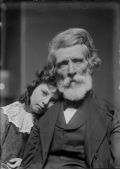 Russell Smith and his granddaughter, Polly
