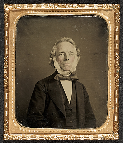 Tintype of Andrew Smith