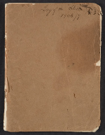 Joseph Lindon Smith diary of travel in Egypt