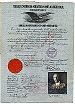 Joseph Lindon Smiths passport