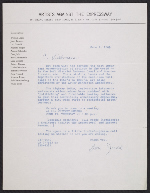 [Donald Judd on behalf of Artists Against the Expressway letter to Gerhardt Liebmann 1]