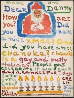 Moses Soyer letter to Daniel Soyer