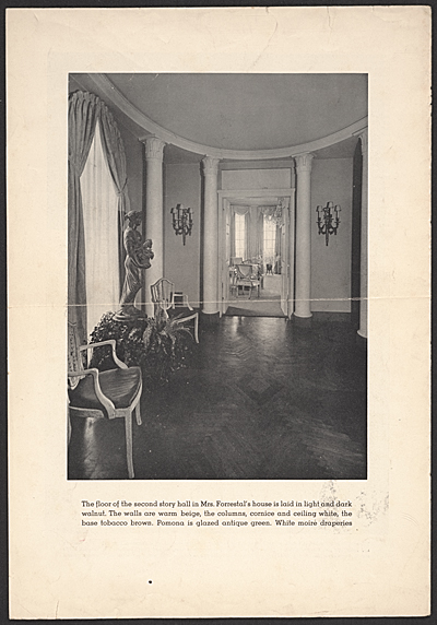 Magazine article featuring the Luxembourg House in New York