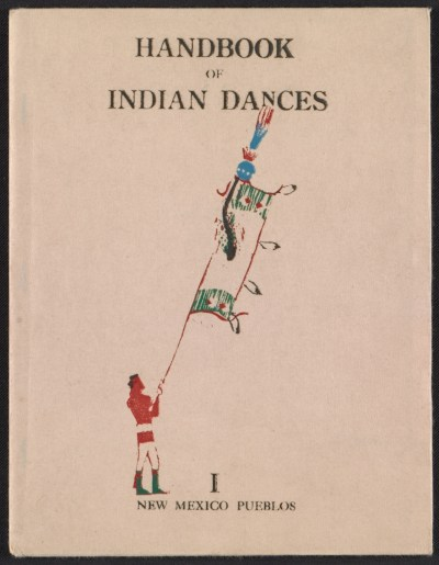 [Indian ceremonial dances in the Southwest, a block-book]