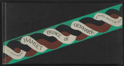 [W. Shakespeare's Hamlet, Prince of Denmark, in block prints by D.N.S.]