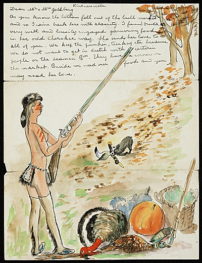 Gaston Longchamp letter to