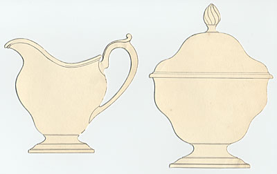 [Cream and sugar set]