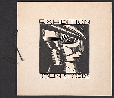 John Storrs exhibition