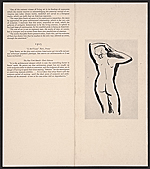 [An exhibition of original drawings in pencil and silver point by the American sculptor John Storrs 2]