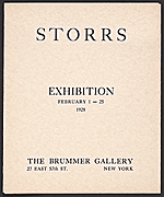 Storrs exhibition