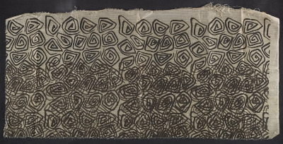 textile with swirls, Doodles