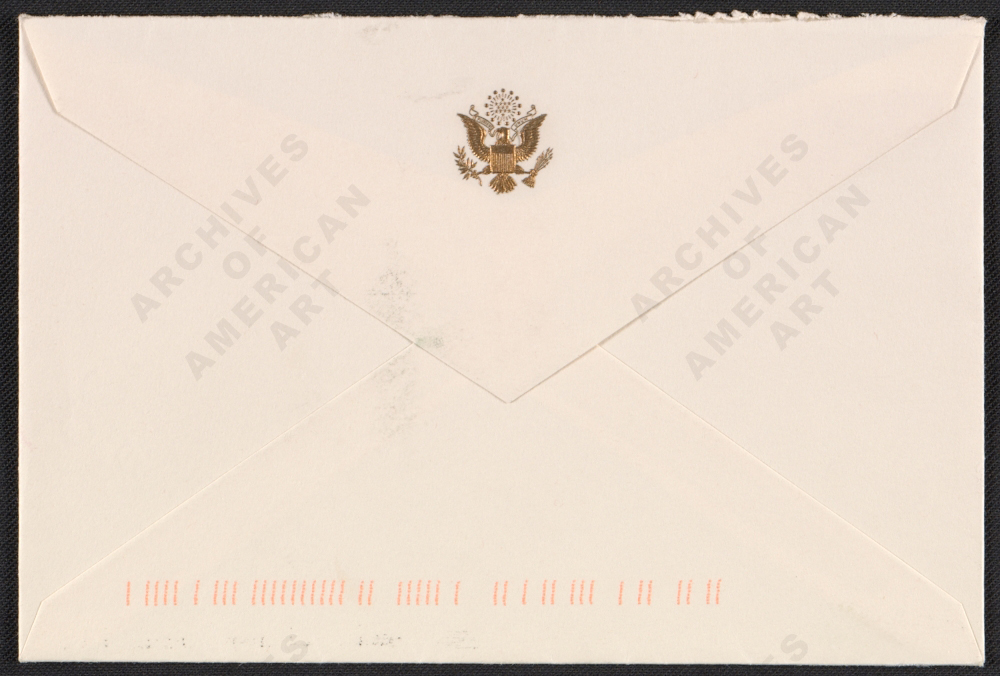 Image for envelope verso 1