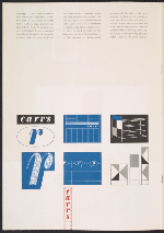 [Ladislav Sutnar graphic designs for Carr's Department Store page 3]