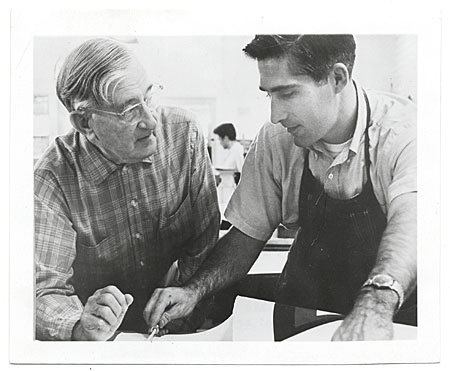 Josef Albers and Ken Tyler