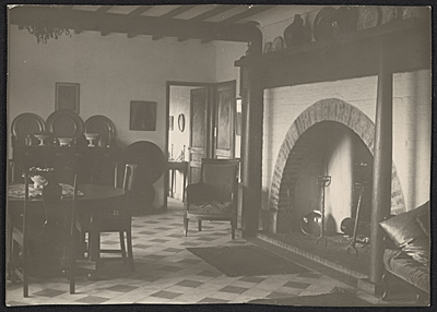 Interior of Edgewood, the Tanner home in Trepied, France