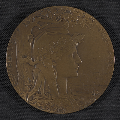 Henry Ossawa Tanners Exposition Universelle award medal