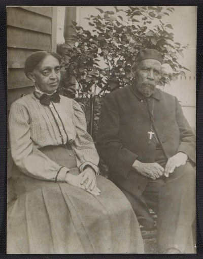 [Mrs. Tanner and Bishop Benjamin Tucker Tanner, mother and father of Henry Ossawa Tanner]