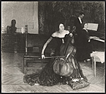 Reproduction of The cello lesson, painting by Henry O. Tanner