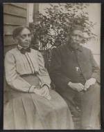 Mrs. Tanner and Bishop Benjamin Tucker Tanner, mother and father of Henry Ossawa Tanner
