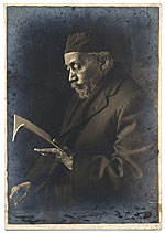 Bishop Benjamin Tucker Tanner reading