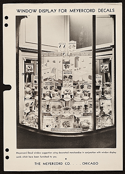 [Meyercord Co. Decal window display image]