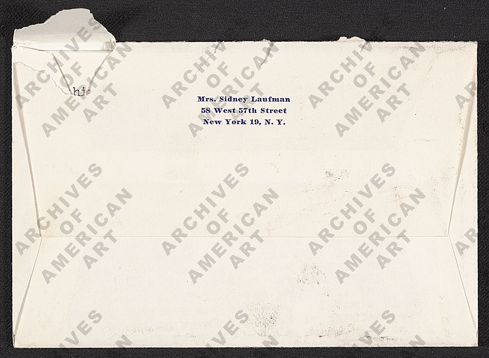 Image for envelope verso 4