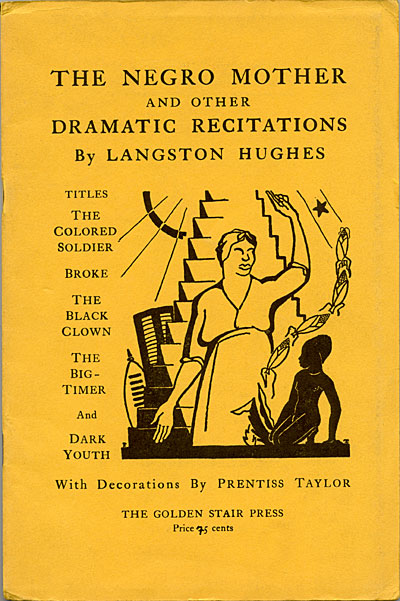 The Negro mother and other dramatic recitations