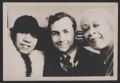 [Gladys Bentley, Prentiss Taylor, and Nora Holt]