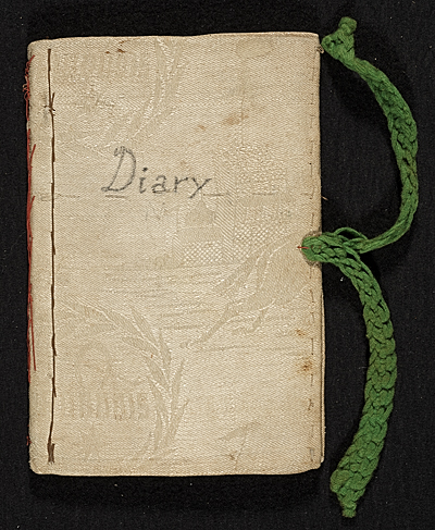 Mary Thayer diary