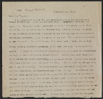 [Charles Webster Hawthorne letter to Emma Beach Thayer page ]