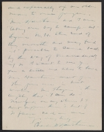 [Charles Webster Hawthorne letter to Emma Beach Thayer page 4]