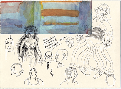 Figure Sketches (Including James Joyce)