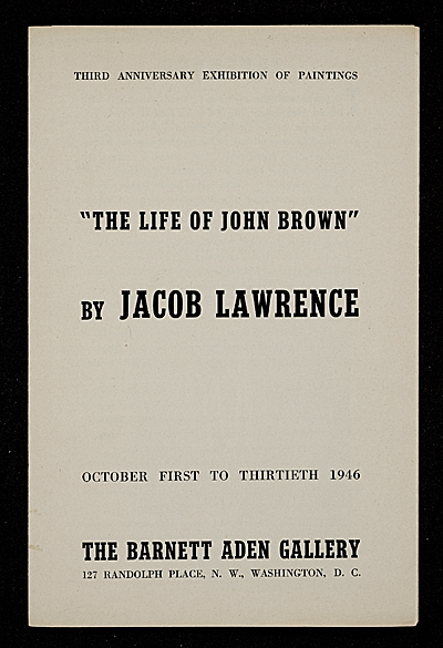 [The Life of John Brown]