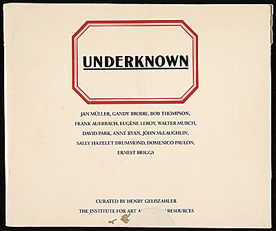 Underknown  exhibition catalog