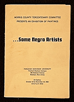 ...Some Negro Artists exhibition catalog