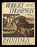 """Robert Thompson, Paintings"""