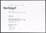 [Garbage! exhibition postcard 1]