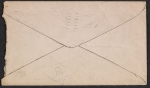 [Charles Ephraim Burchfield letter to Paul B. Travis envelope verso 1]